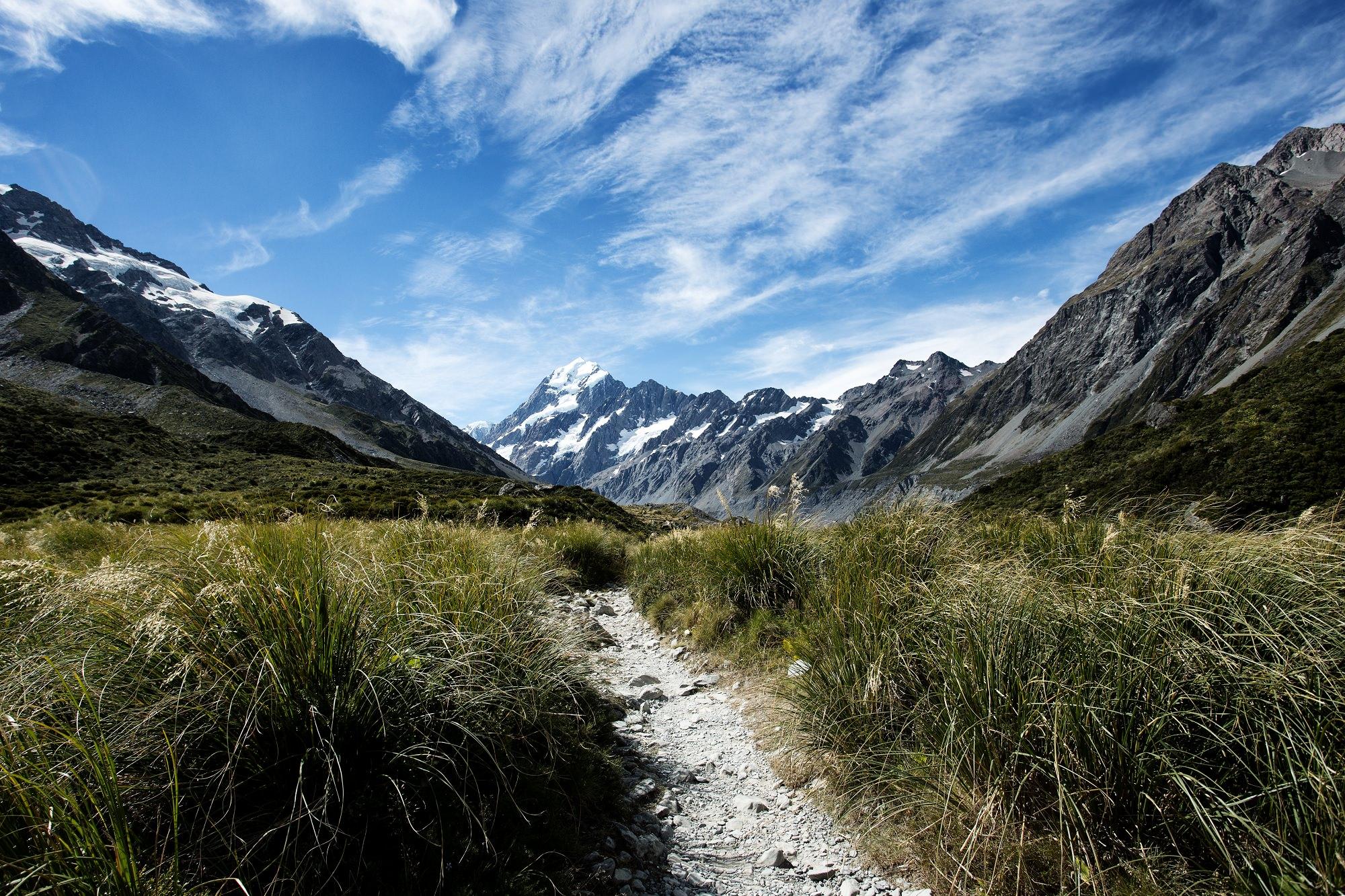 Aoraki / Mount Cook National Park