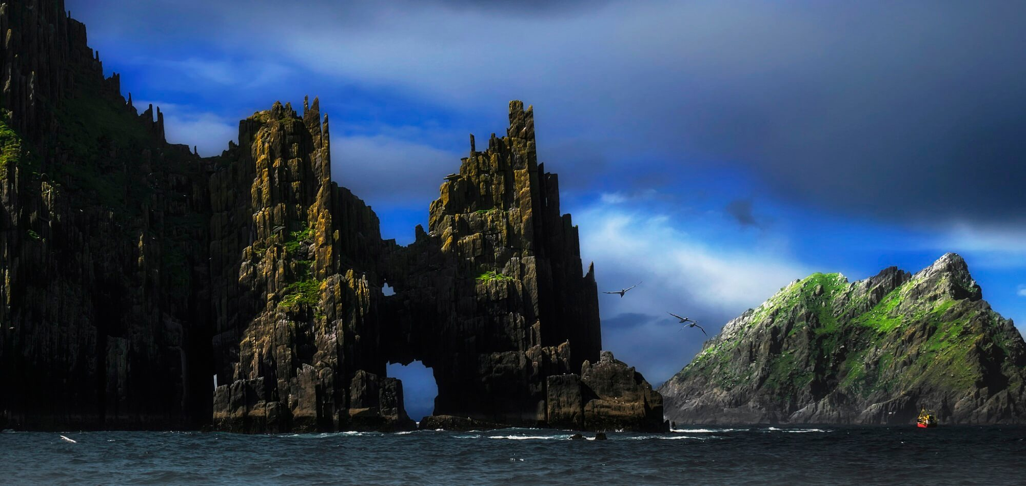 Cathedral Rocks
