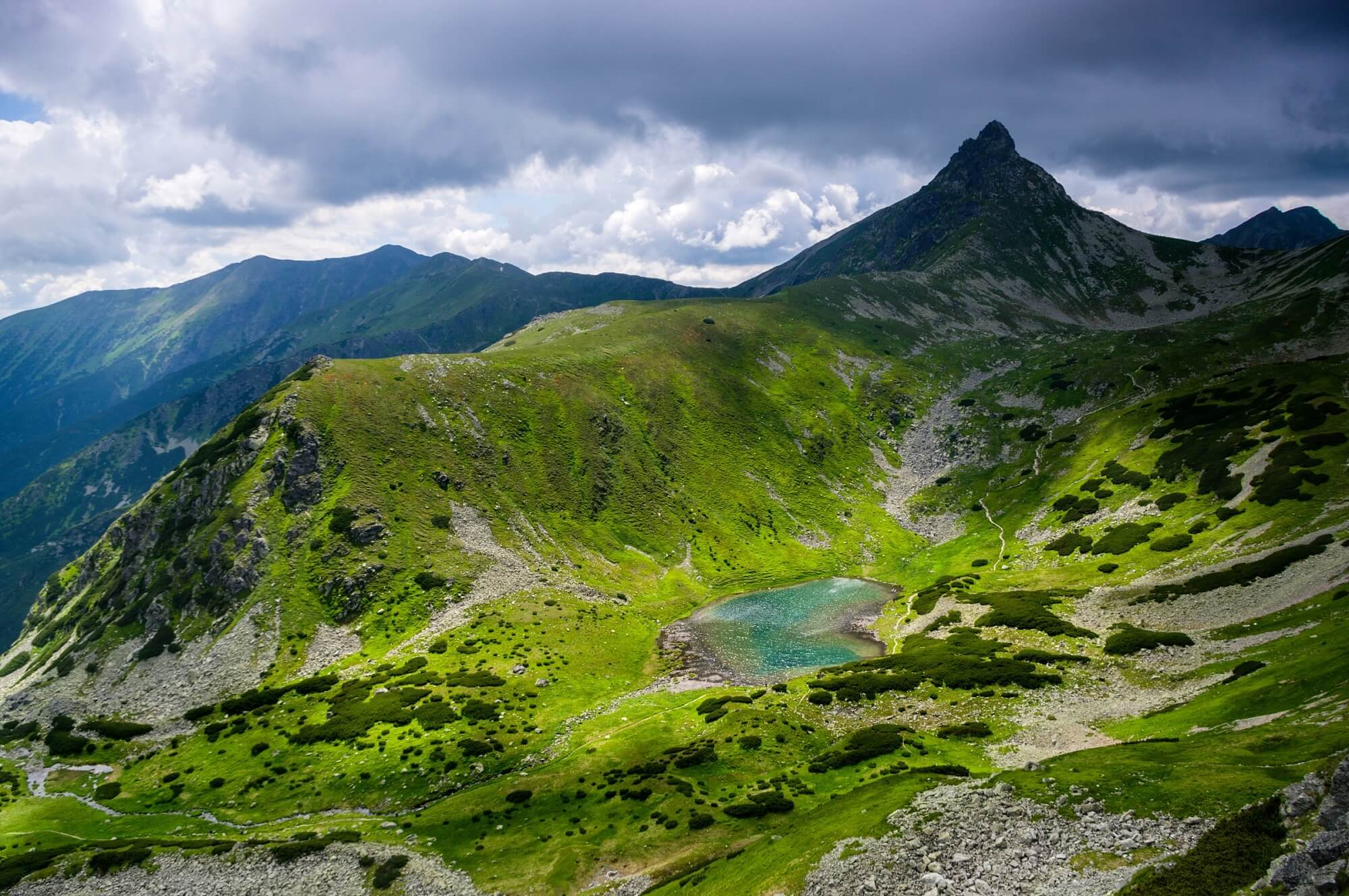 Ostrý Roháč Peak